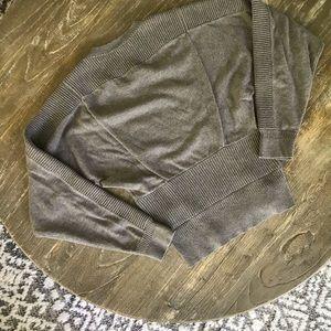 Allsaints women's brown sweater 100% cotton Size 0
